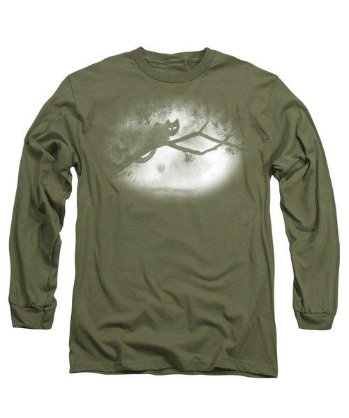 Chat Dans L'arbre Long Sleeve T-Shirt