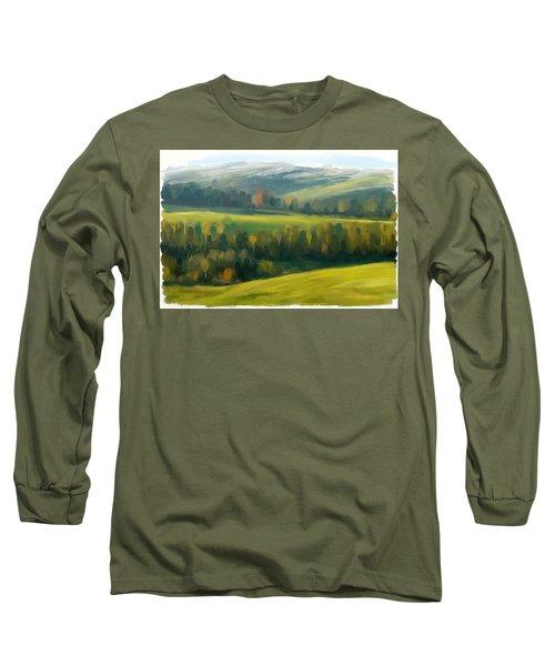 Rich Landscape Long Sleeve T-Shirt