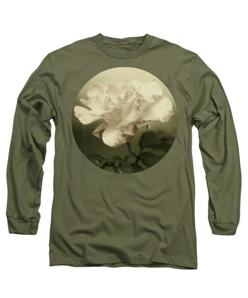 Faded Rose Long Sleeve T-Shirt