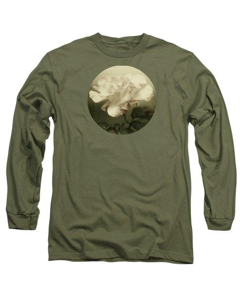 Faded Rose Long Sleeve T-Shirt