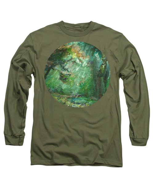 Rainy Woods Long Sleeve T-Shirt