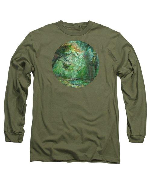 Rainy Woods Long Sleeve T-Shirt
