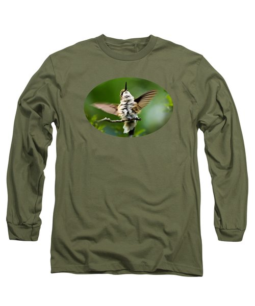 Hummingbird Happy Dance Long Sleeve T-Shirt