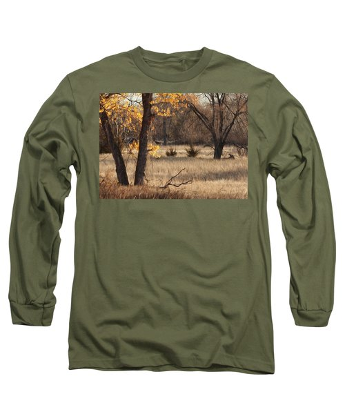 Shades Of Autumn Long Sleeve T-Shirt by Bill Kesler