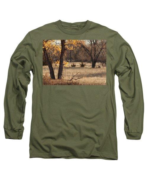Shades Of Autumn Long Sleeve T-Shirt