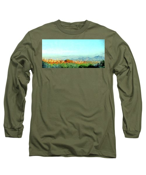Arzachena Landscape With Mountains Long Sleeve T-Shirt