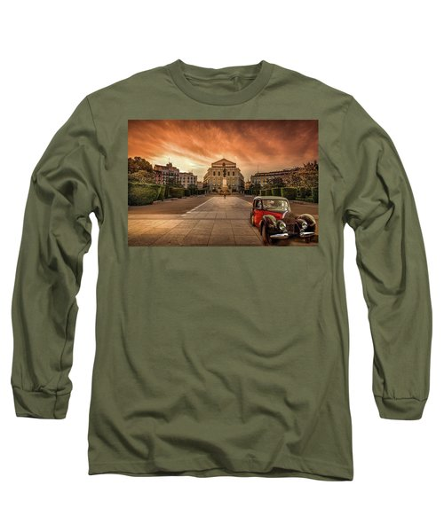 Assignation Long Sleeve T-Shirt by Marty Garland