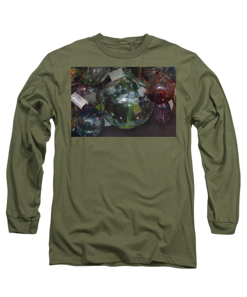 Assorted Witching Balls Long Sleeve T-Shirt by Suzanne Gaff