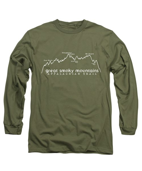 At Elevation Profile Gsm White Long Sleeve T-Shirt by Heather Applegate