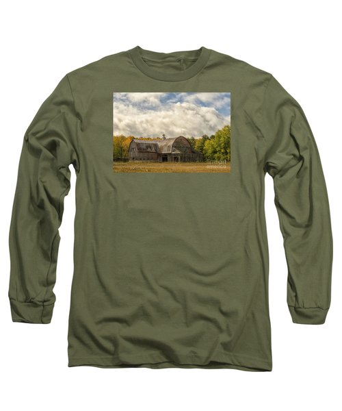 Long Sleeve T-Shirt featuring the photograph At The Edge Of The Medow by JRP Photography