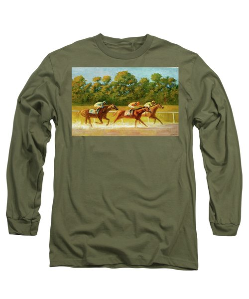At The Finish Line Long Sleeve T-Shirt