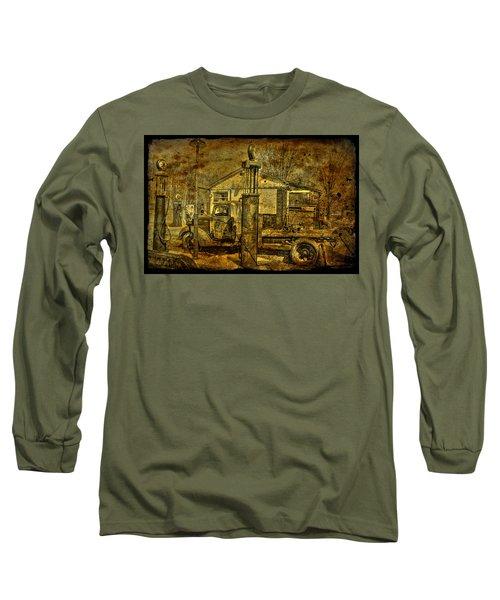 At The Pumps No.7009a1 Long Sleeve T-Shirt