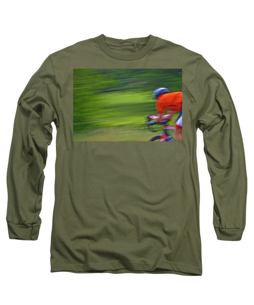 Long Sleeve T-Shirt featuring the photograph At The Speed Of Light by Linda Unger