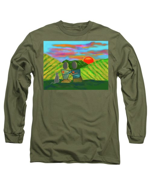 At The Vineyard Long Sleeve T-Shirt