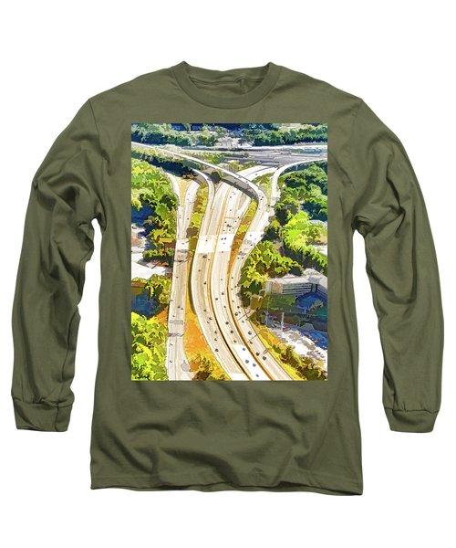 Atlanta Highways Long Sleeve T-Shirt