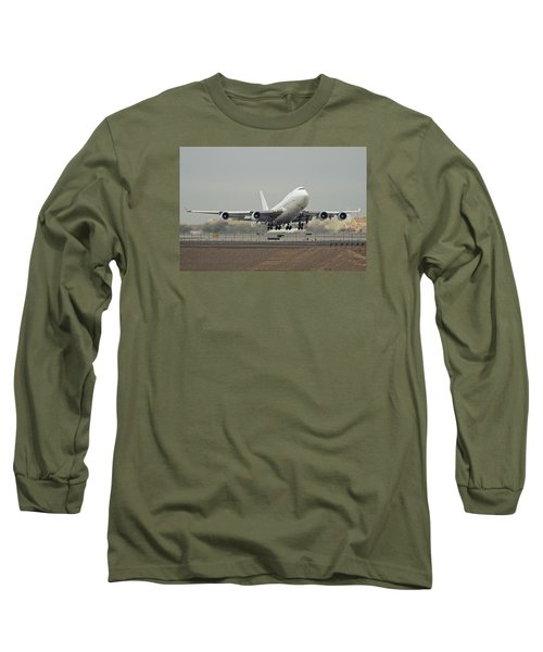 Atlas Air Boeing 747-45e-sf N473mc Phoenix Sky Harbor December 24 2015 Long Sleeve T-Shirt
