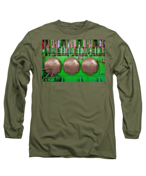 Long Sleeve T-Shirt featuring the photograph Atlas Imperial by Paul Wear