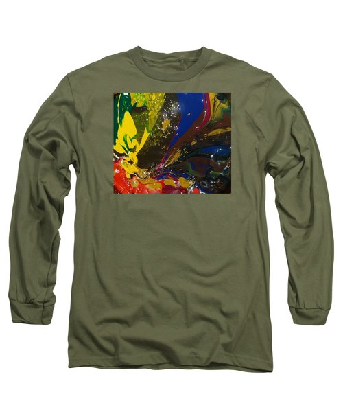 Atom, Surfing On Dog Long Sleeve T-Shirt