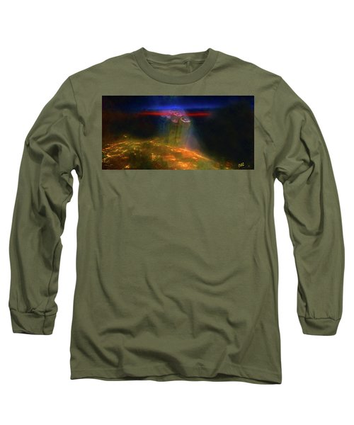 Attack Of The Aliens Long Sleeve T-Shirt