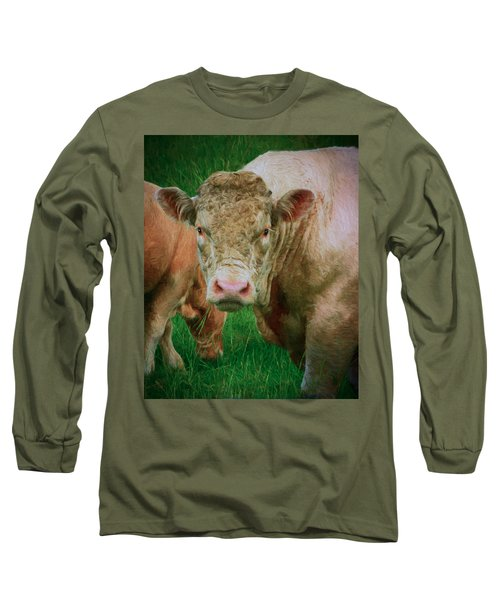 Attention  Long Sleeve T-Shirt