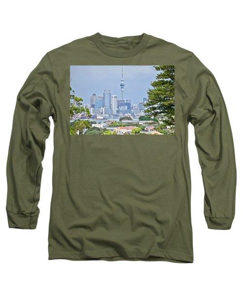 Auckland City C B D Long Sleeve T-Shirt