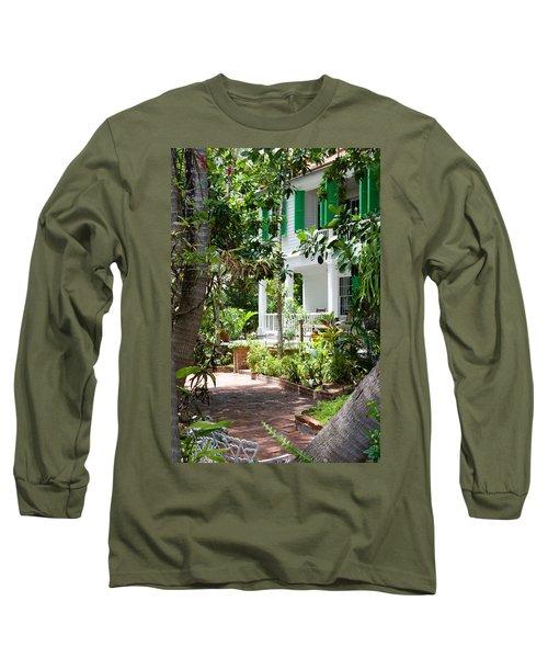 Audubon House Entranceway Long Sleeve T-Shirt