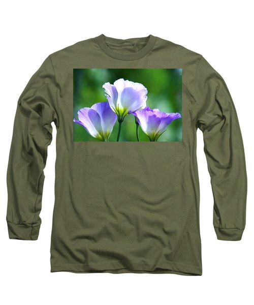 Long Sleeve T-Shirt featuring the photograph August Echoes by Byron Varvarigos