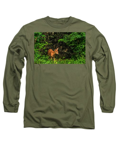 August Fawn Long Sleeve T-Shirt by Trey Foerster