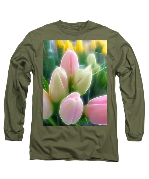 Aura Of Tulip Long Sleeve T-Shirt