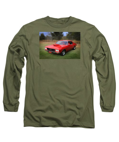 Long Sleeve T-Shirt featuring the photograph Aussie Muscle by Keith Hawley