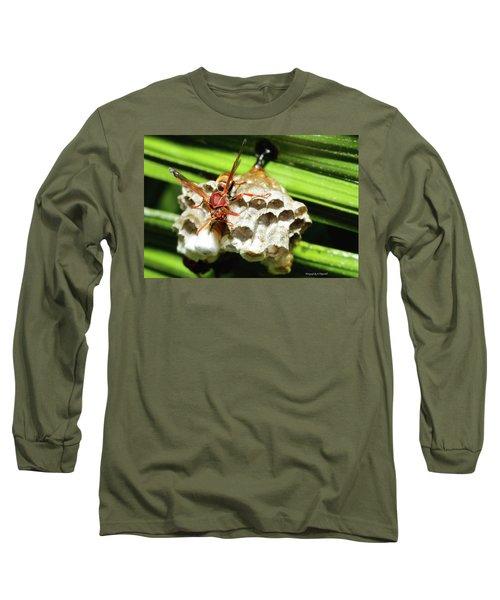 Australian Papper Wasp 772 Long Sleeve T-Shirt