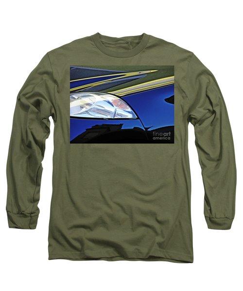 Auto Headlight 190 Long Sleeve T-Shirt by Sarah Loft