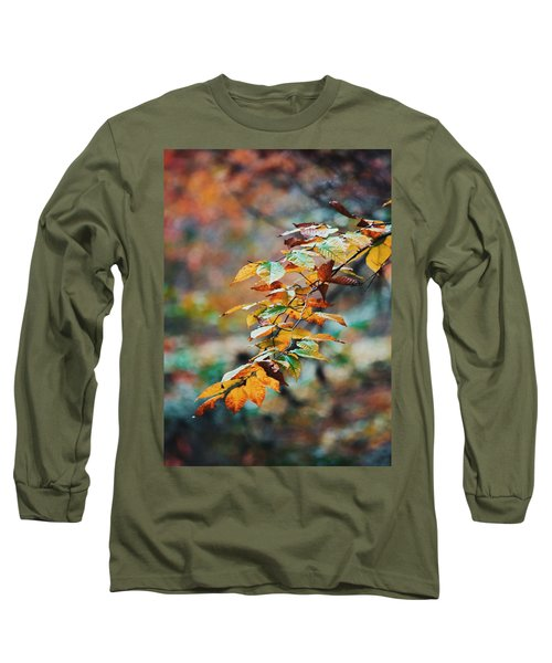 Long Sleeve T-Shirt featuring the photograph Autumn Aesthetics by Parker Cunningham