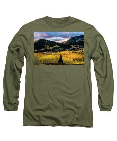 Autumn At Guardsman Pass Long Sleeve T-Shirt