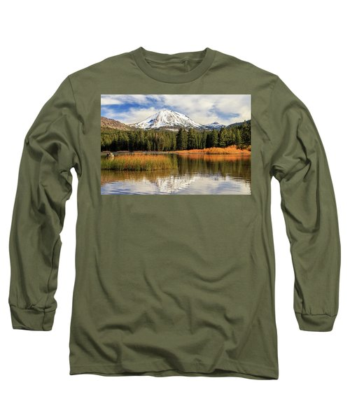 Long Sleeve T-Shirt featuring the photograph Autumn At Mount Lassen by James Eddy
