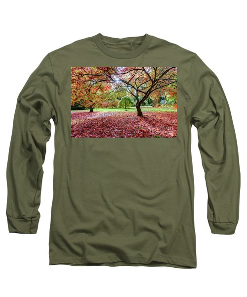 Autumn At Westonbirt Arboretum Long Sleeve T-Shirt