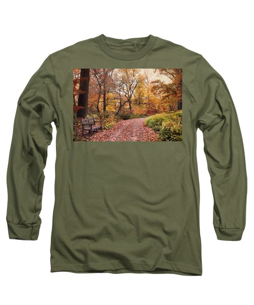 Autumn Azalea Garden Long Sleeve T-Shirt