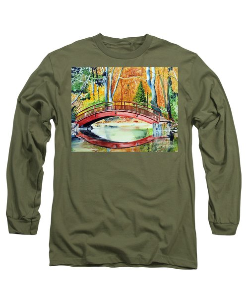 Autumn Beauty Long Sleeve T-Shirt by Tom Riggs