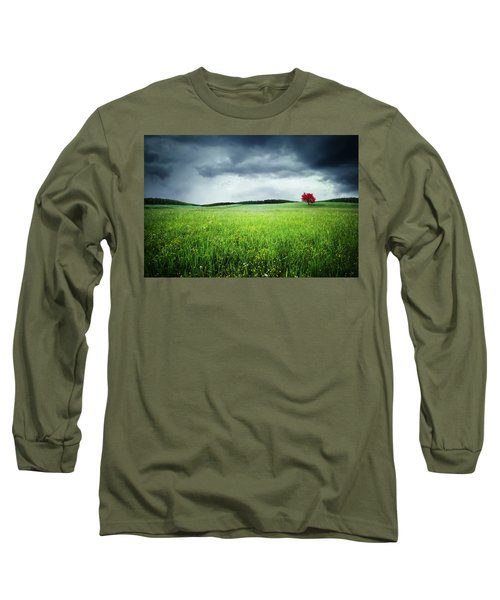 Long Sleeve T-Shirt featuring the photograph Autumn by Bess Hamiti