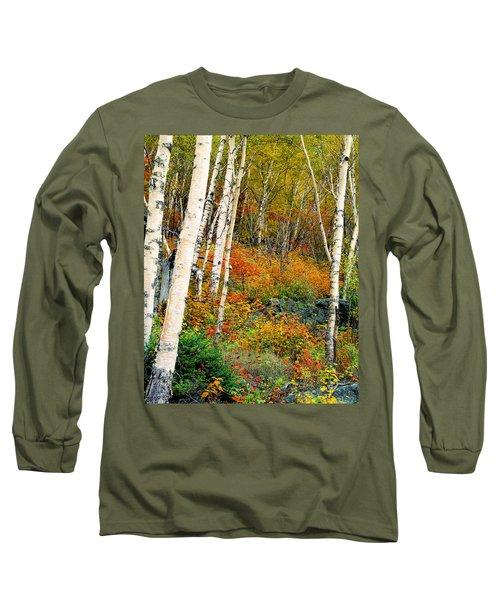 Autumn Birch Long Sleeve T-Shirt