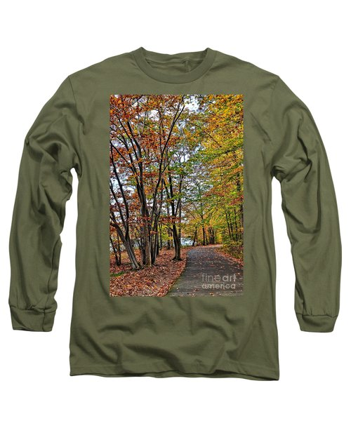 Long Sleeve T-Shirt featuring the photograph Autumn Bliss by Gina Savage