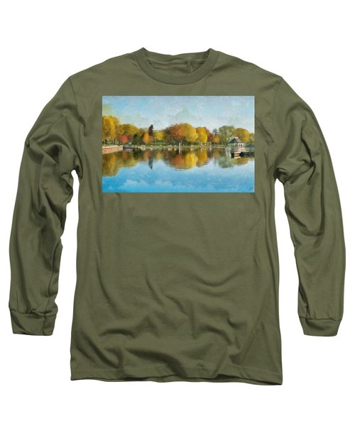Autumn Blues Long Sleeve T-Shirt
