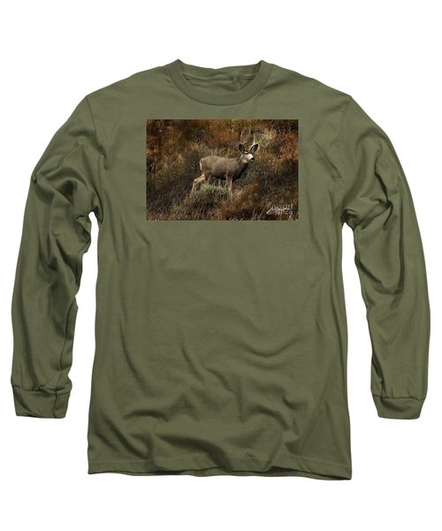 Autumn Buck Long Sleeve T-Shirt