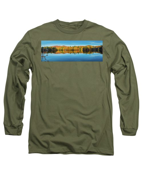 Autumn By The Lake Long Sleeve T-Shirt