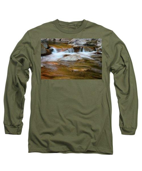 Autumn Cascade Nh Long Sleeve T-Shirt