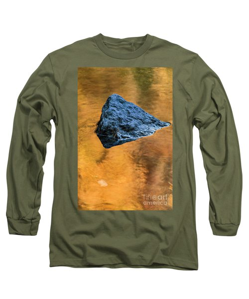 Long Sleeve T-Shirt featuring the photograph Autumn Color On Little River - D009990 by Daniel Dempster