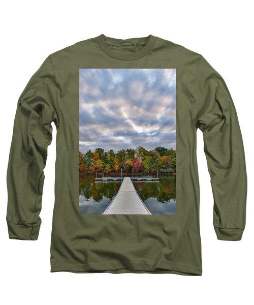 Autumn Colors At The Lake Long Sleeve T-Shirt