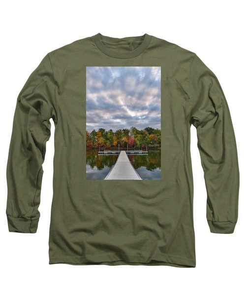 Autumn Colors At The Lake Long Sleeve T-Shirt