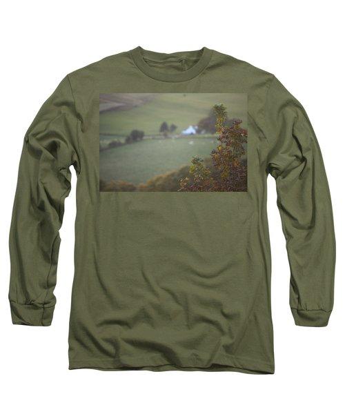 Autumn Cottage  Long Sleeve T-Shirt