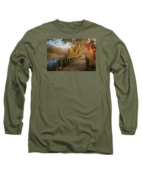 Autumn Emerging Long Sleeve T-Shirt by Rob Blair